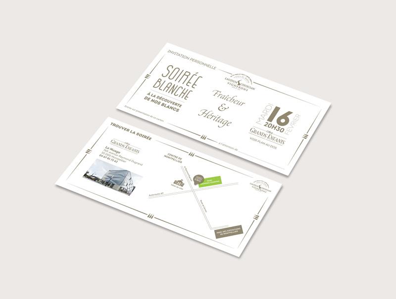 Laudun Chusclan Vignerons, cave coopérative. Michaël Petit de Petit(à)Petit est spécialisé dans la communication visuelle, print et web. Logos, affiches, flyers, cartes de visite, plaquettes, brochures, signalétique, sites internet Petit(à)Petit crée tout ce dont vous avez besoin pour votre communication. C'est en même temps une agence de communication, un graphiste, un directeur artistique, un webdesigner basé à Pornichet, Saint-Nazaire, Nantes, Loire Atlantique, France, île de la Réunion, Paris. J'utilise illustrator, photoshop et indesign ainsi que Adobe Première et Final cut pour le montage vidéo
